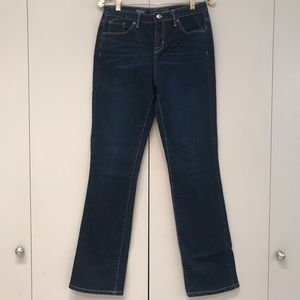 Mossimo Jeans Mid-Rise Curvy Bootcut